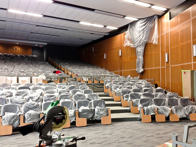 Fixed Seating Installation