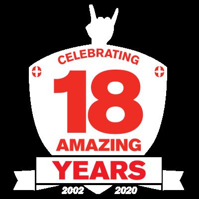 18 Amazing Years